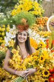 PORTUGAL MADEIRA FUNCHAL FLOWER FESTIVAL royalty free stock images