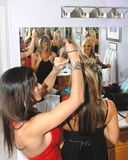 Women dressing  Stock Photo
