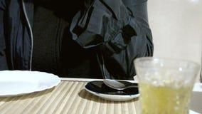Women drink turkish tea. Uhd stock video footage