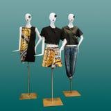 Women elegant dress on mannequin Royalty Free Stock Photos
