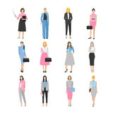 Women in elegant office clothes. Stock Photo