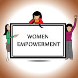 Women empowerment Stock Photos