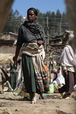 Women from Ethiopia. A Women from Ethiopia in Africa Royalty Free Stock Photo