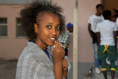 A women, Ethiopia Royalty Free Stock Photo