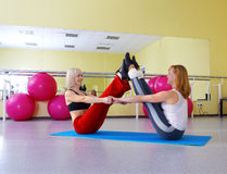 Women exercising Stock Image