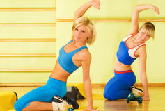 Women exercising Stock Images