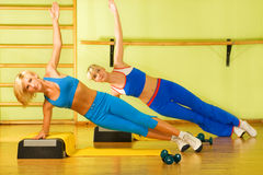 Women exercising Royalty Free Stock Image
