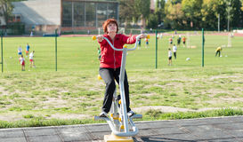 Women exercising Stock Photography