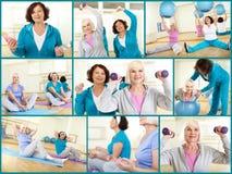 Women exercising Royalty Free Stock Photo