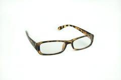 Women eyeglasses on white Stock Images