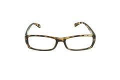 Women eyeglasses on white Royalty Free Stock Image