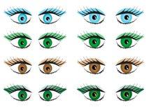 Women eyes Stock Photography