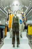 Women fashion clothing shop Royalty Free Stock Image