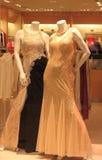Women Fashion Dress Display Royalty Free Stock Photography