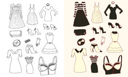 Women fashion Royalty Free Stock Photography