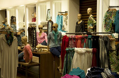 Women fashion store Stock Image