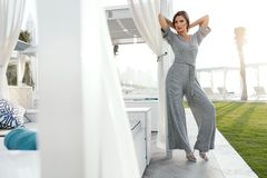 Women Fashion. Woman In Fashionable Clothes Stock Photography