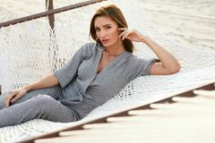 Women Fashion. Woman In Fashionable Clothes Stock Images