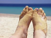 Women feet Royalty Free Stock Images