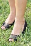 Women feet royalty free stock photos
