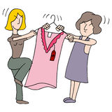 Women Fighting Over Dress Stock Photos