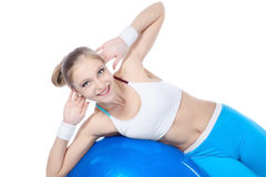 Women in fitness Royalty Free Stock Photo