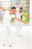 Fitness dance class royalty free stock image