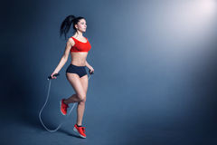Women fitness motivation Royalty Free Stock Photography