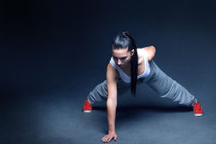 Women fitness motivation Stock Image
