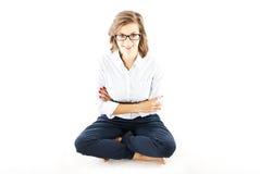 Women on floor royalty free stock photos
