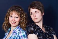 Women friends Stock Images