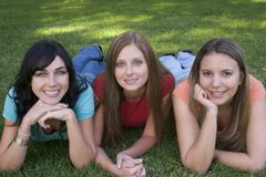 Women Friends. Smiling woman friends Royalty Free Stock Images