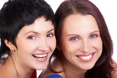 Women friends royalty free stock photos