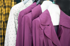 Women garment. S at a store Stock Image