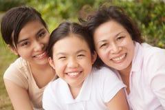 Women generation Royalty Free Stock Photo