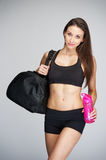 Women Going To the Gym Royalty Free Stock Photos