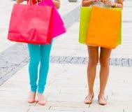 Women Gone Shopping Stock Photo