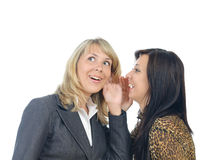 Women gossip Royalty Free Stock Photo