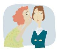 Women gossip Stock Photos