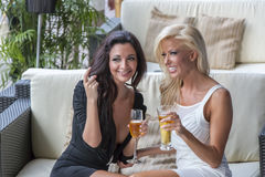 Women Gossiping Royalty Free Stock Photos