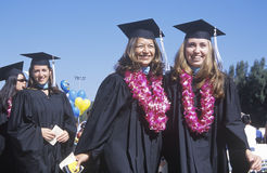 Women graduates from UCLA Royalty Free Stock Photography