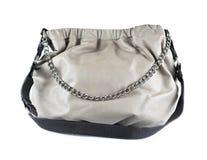 Women grey bag Stock Photo