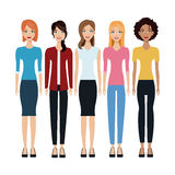 Women group community together Stock Photos