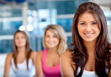 Women at the gym Stock Image