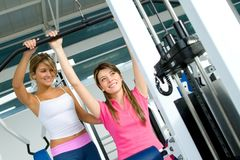 Women at the gym Royalty Free Stock Photography