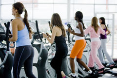 Women at the gym Stock Images