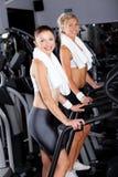 Women gym exercising Royalty Free Stock Photos