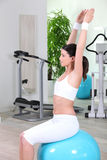 Women at the gym Royalty Free Stock Image