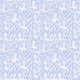 Women - hand drawn seamless pattern of a crowd of different women stock photography