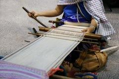 Women hand sewing Stock Photos